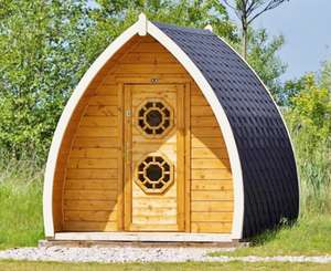 Lancashire: 1 Night Glamping Pod for Two Adults and Two Children at Stanley Villa Farm £23.20 with code (£5.80 per person) @ Groupon