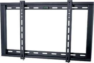 """Ultimate Mounts Black Fixed Wall Mount Bracket up to 60"""" TV's @ Theplasmacentre £15.99 Delivered"""