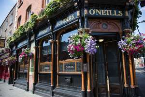 Get £5 off £10 food with newsletter signup @ O'Neils (e.g 2 x Large Breakfasts £7.60 / 2 Main Meals for £5)