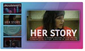 Joggernauts, InnerSpace,Keep in Mind Remastered  and Her Story (PC) Free @ Twitch Prime