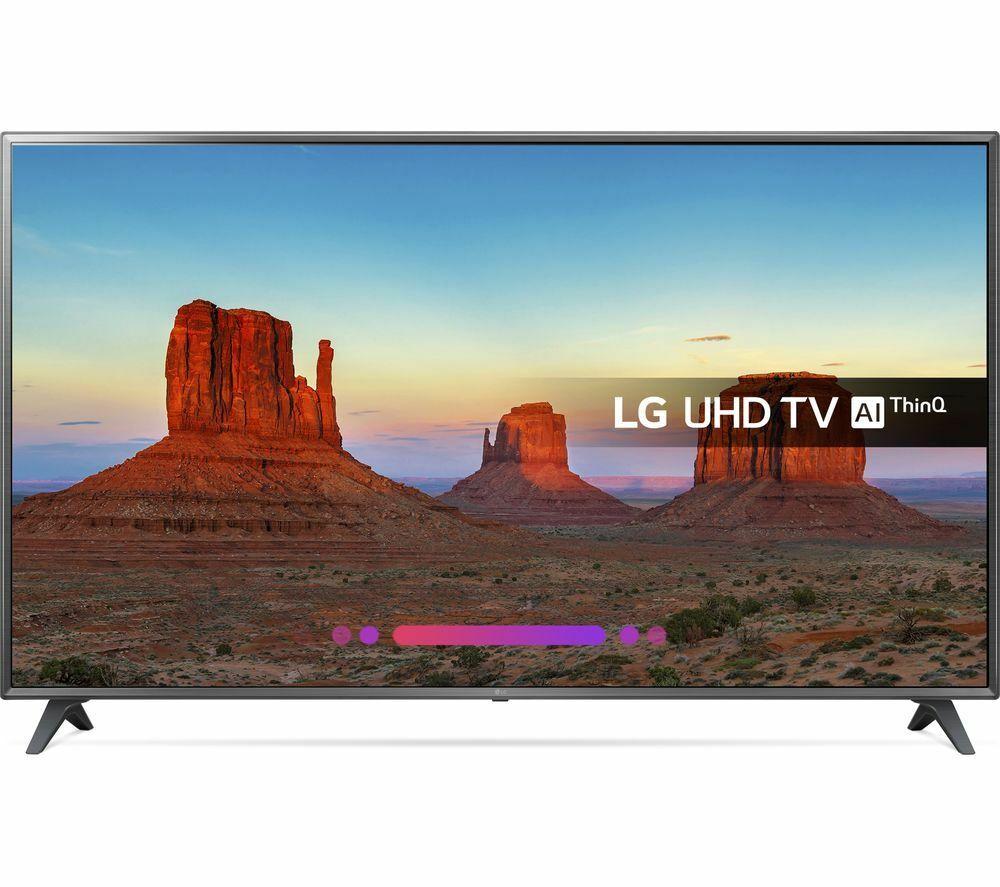 "LG 75UK6200PLB 75"" Smart 4K Ultra HD HDR LED TV - Currys / Ebay for £999"