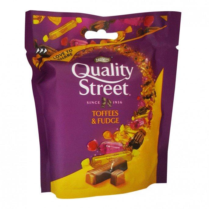 Quality Street Toffee & Fudge 93g Pouch 59p @ Poundstretcher