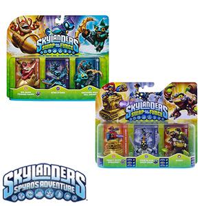 Triple pack : Skylanders Swap Force Figures 99p ( Choice of 2 packs ) @ Home Bargain ( Amazon £10.99 )