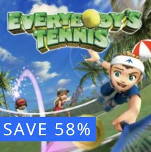 Everybody's Tennis (Hot Shots Tennis). NEW HD graphics on PlayStation 4 (originally a PS2 game) & trophy support! £3.29 PSN
