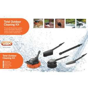 Vax Pressure Washer Total Outdoor Cleaning Kit £24.99 at Vax