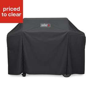 Weber Genesis BBQ cover was £37 then £18.50 now £12 at B&Q