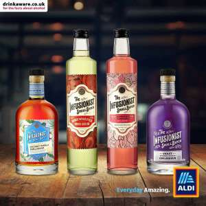 ALDI The Infusionist - New Range of Spirits - Available from 26th of April for £9.99