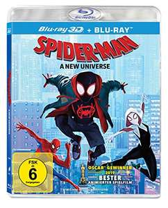 3D Blu Ray Spider-man into the Spider-verse £19.95 From Amazon Germany