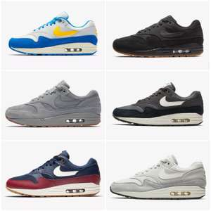 lowest price 61fe5 34a25 7 colours of Nike Air Max 1 trainers only £59.47   Nike + possible 10