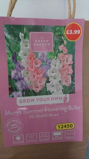 Aldi mother's day bulbs now scanning half price (From £1.99) @ ALDI