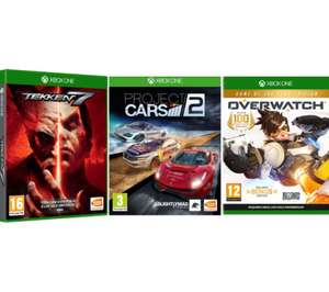 Overwatch GOTY + Project Cars 2 + Tekken 7 Bundle (Xbox One) - £29.99 Delivered @ Currys