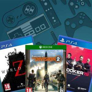 Top 10 Game Deals for PS4 / Xbox One / Nintendo Switch and PC