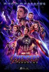 Avengers Double Bill (Infinity War + Endgame) - Pay the price of a single ticket! At Odeon, Cineworld, Vue Nationwide 24/04/19