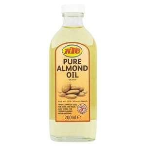 KTC Almond Hair Oil 200ml @ Superdrug Online & In-store now 75p @ On  3for2.
