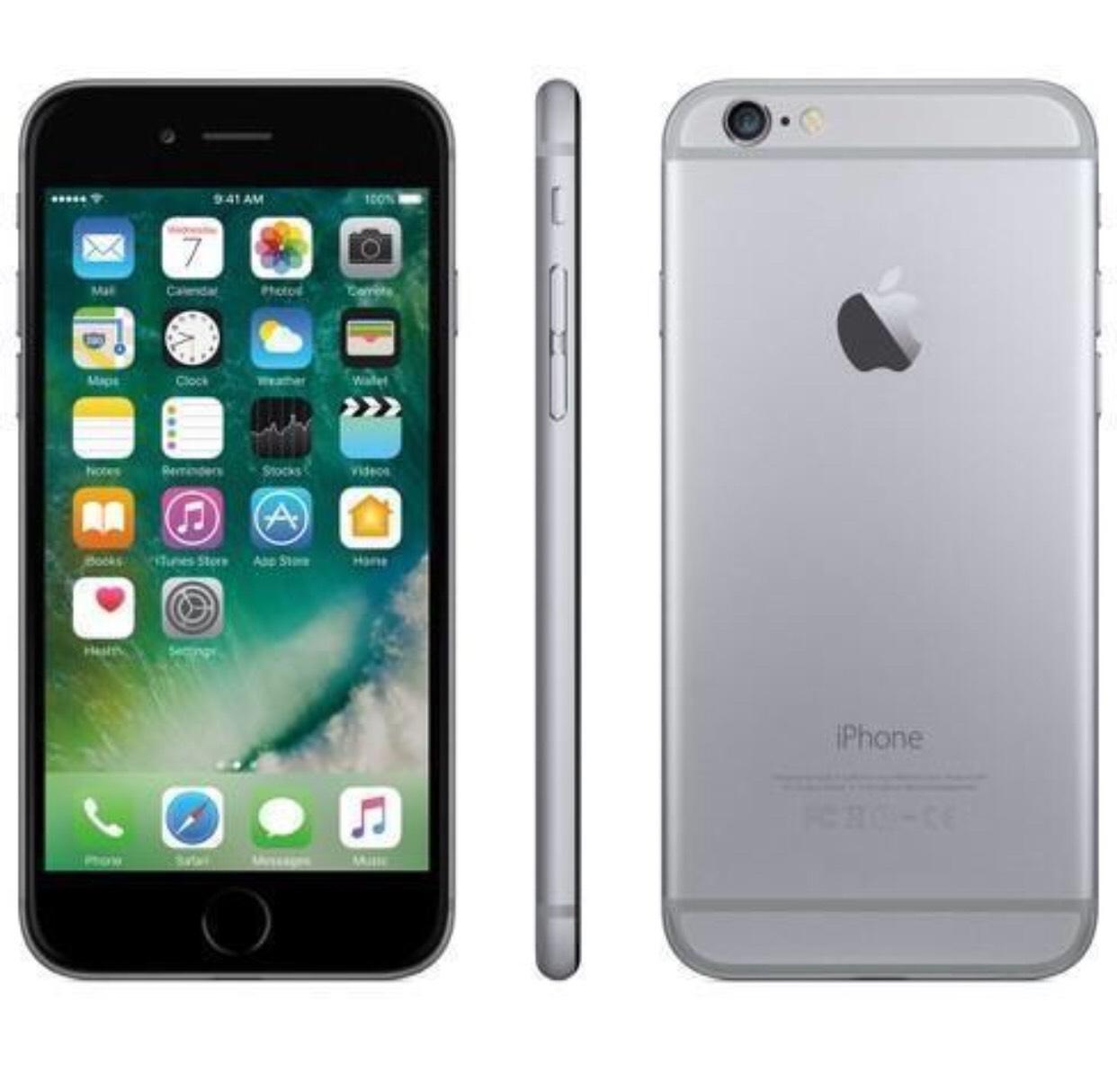 Grade B Apple iphone 6 16gb space grey smartphone vodafone network £69.99 at itzoo