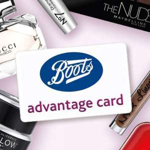 200 Boots Advantage Card Points for FREE when you download the Boots app for the first time