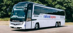 20% off National Express with NUS when booking 3 days in advance for TOTUM/NUS extra cardholders.
