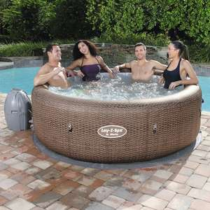 Bestway Lay-Z-Spa St Moritz Air Jet Inflatable Hot Tub. Opening day offer £190 at Haslingden Jack's