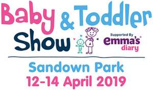Free tickets to Baby & Toddler show Sandown Park - Friday 12th
