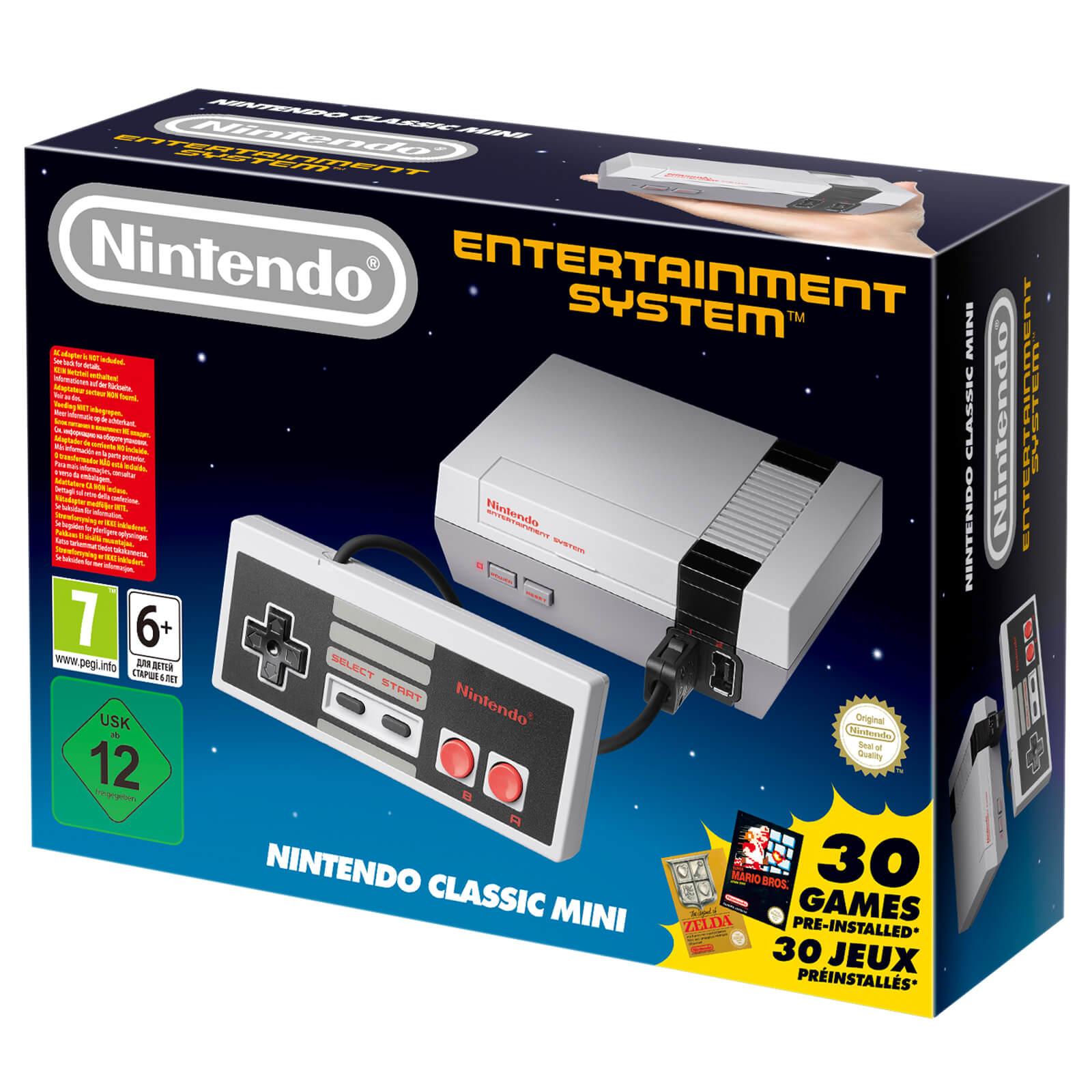 Nintendo Classic Mini: Nintendo Entertainment System £43.38 delivered @ Zavvi with code MERCH20