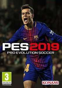 Pro Evolution Soccer (PES) 2019 PC Steam Key £6.39 @ cdkeys