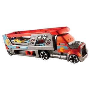 Up to Half price toy sale Hot Wheels Blastin Rig was £25 now £12.50, Barbie Convertible car & doll was £30 now £15 more in op @ Tesco