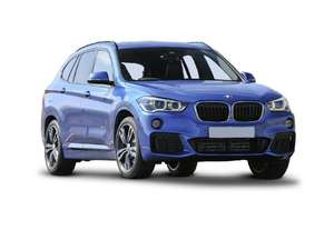 BMW X1 SDrive 20i M Sport 5dr Auto - lease £296.10pm x 36 Months (Initial payment of £1,776.60) @ What Car? Leasing