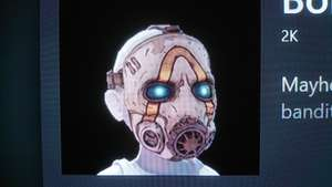 Borderlands 3 Avatar Bandit mask  FREE