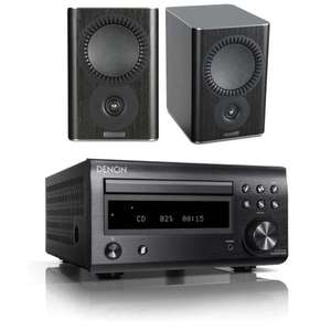 Denon RC-DM41DAB Micro Hi-Fi CD Receiver - Bluetooth / DAB / DAB+ / FM + Mission QX-1 Bookshelf Speakers £379 + free del @ electricshop