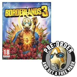 Pre-Order Borderlands 3 + Gold Weapon Skins pack and Exclusive Physical Psycho Bandit Mask £54.99 @ Game [Xbox One / PS4 / PC]