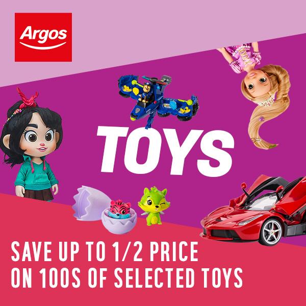 Now Live - Save up to Half Price on Hundreds of Toys @ Argos - eg LEGO City Bundle, Harvester Transport + Loader Toy Truck - £17.49