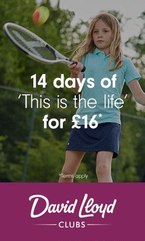 David Lloyds Club Gym 14 DAY MEMBERSHIP FOR £16*