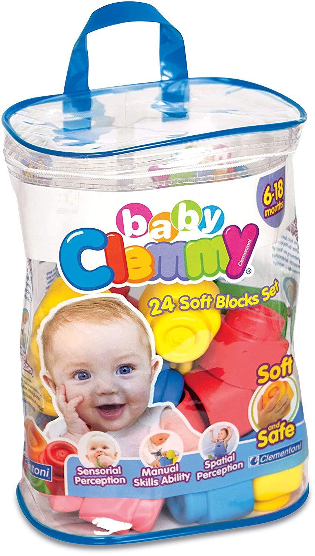 Clemmy baby soft blocks pack of 24 for £8 @ Tesco