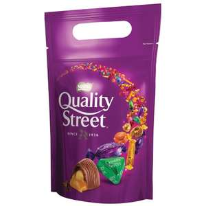 500g Quality Street Pouch £1.99 (£2.39 including VAT) @ Bookers/Makros