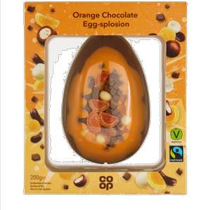 COOP Fully Loaded Orange Chocolate Egg/ Salted Caramel Brownie Egg-Splosion /Selected Branded Eggs  Any Three for £10