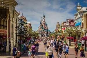 Disabled badge holders free ride access avoid queues plus 10% off gate price ticket for blue badge holder & Carer goes free@Disneyland Paris