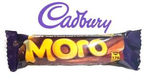 Pack Of 4 Cadbury Moro Bars (3+1 Free) 160g, (Mars-Style Chocolate Bar) £1 In Store @ Poundstretcher