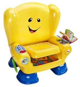 Fisher-Price BHB96 Smart Stages Chair, Educational Toddler Activity Chair Toy with Sounds, Music and Phrases at Amazon £29.99