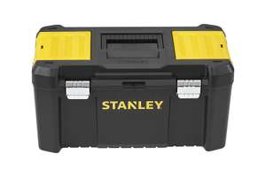"""Stanley Essential 19"""" Toolbox with Metal latches, Black/Yellow, £10 at Amazon/B&Q (+£4.49 non-prime)"""