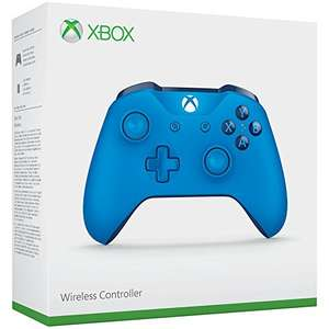 Xbox One Controller (Blue) (£29.75 Fee Free Card / £30.89 Non Fee Free Card) @ Amazon Germany