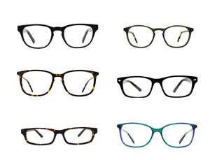 92d569f66e1f 2 pairs of Prescription Glasses for £16 delivered with code   Glasses Direct