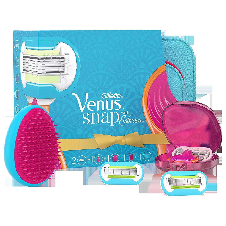 Gillette Venus Embrace Women SNAP Razor + 2 Blades & Travel Bag & Case Gift Set £3 @ Superdrug in store