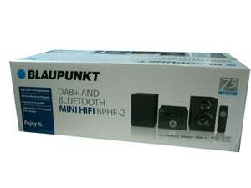 Blaupunkt BPHF-2 DAB FM Radio Mini HiFi £27 instore @ Sainsbury's