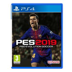 Pro Evolution Soccer 2019 (PS4) for £15.85 delivered @ ShopTo