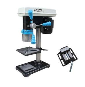Mac Allister (500W) 240V Corded Brushed Pillar drill & vice £40 with code @ B&Q