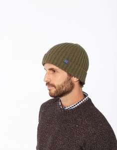 Joules Bamburgh Cable Knit Beanie Hat £3.95