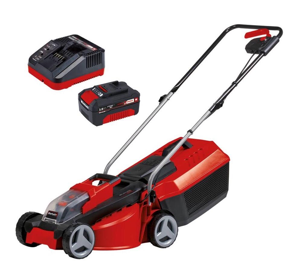 Einhell Ge Cm 18 30 Li 3ah Cordless Lawn Mower Kit 163 92