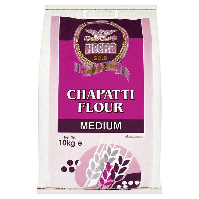 Heera Gold Chapatti Flour Medium 10kg  £3 Morrisons