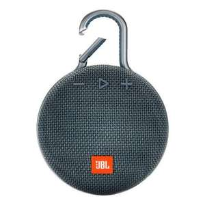 JBL Clip 3 plus Bluetooth Speaker FREE delivery - £43.99 delivered @ Maplin
