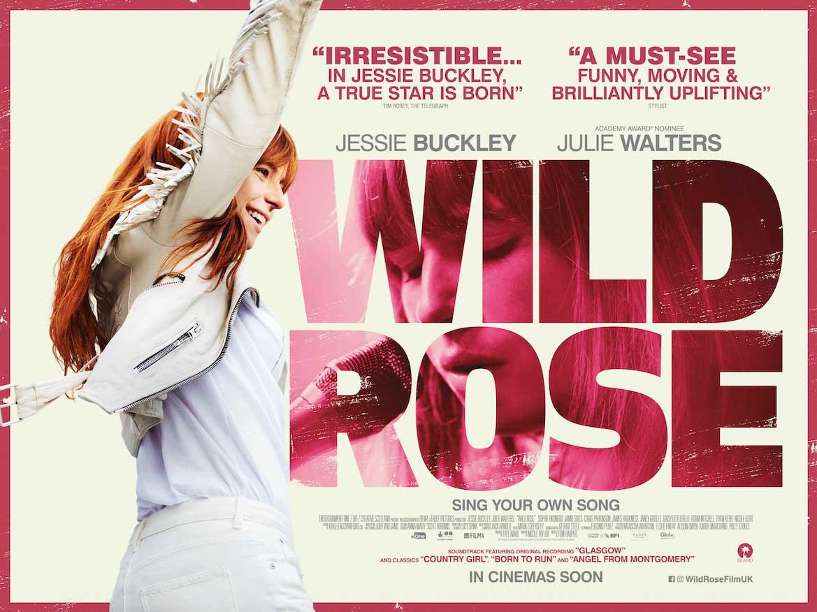 Free cinema tickets to Wild Rose @ SFF - Sun, 7 Apr 2019 at 10:30am